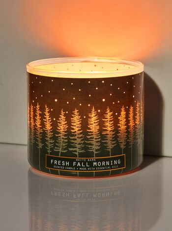 Bath & Body Works Fresh Fall Morning 3-Wick Candle