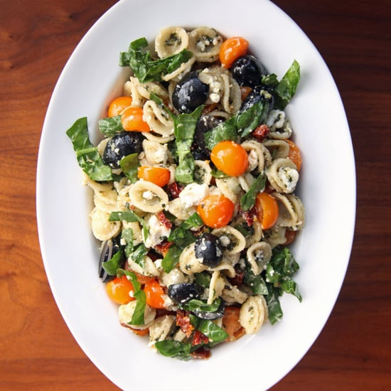 Mediterranean Pesto Pasta Salad Recipe