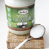 Coconut oil as a body moisturizer.