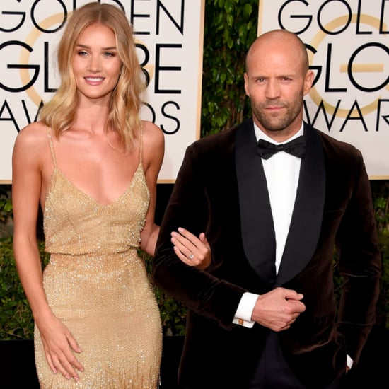 Rosie Huntington-Whiteley et Jason Statham Fiancés