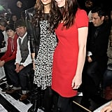 Ashley Greene and Nina Dobrev stood for a snap.