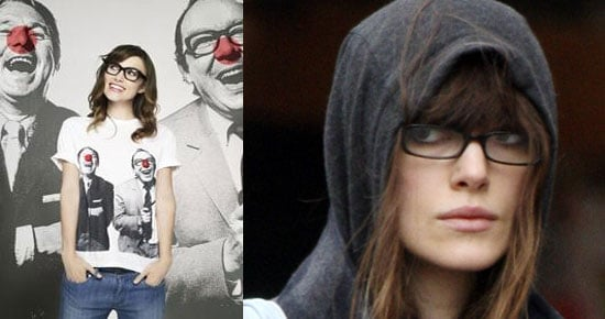 Keira Has Specs Appeal For Comic Relief