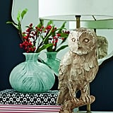Rustic Owl Table Lamp