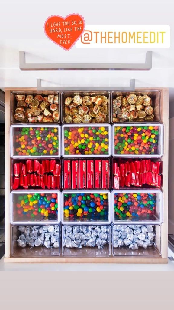 Khloé Kardashian's Organized Kitchen Drawer