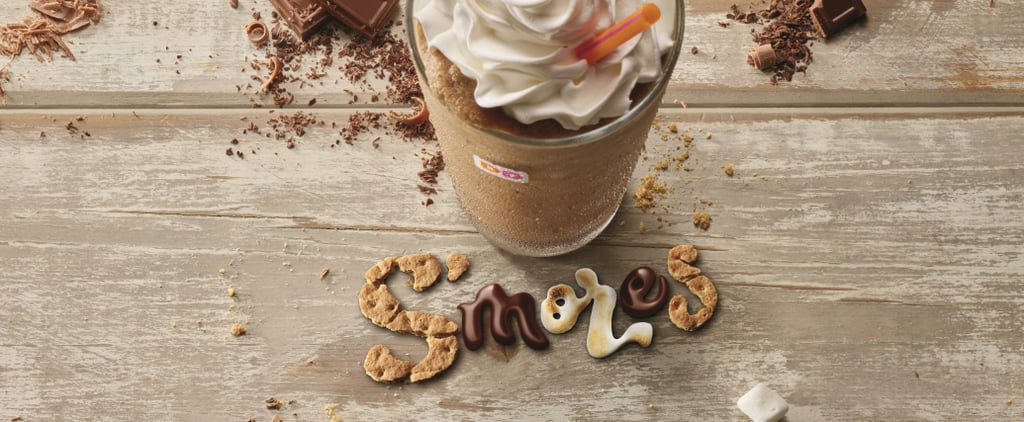 Dunkin' Donuts Coffee Now Comes in the Most Summery Flavor Ever — S'mores