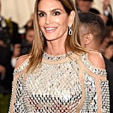 Cindy Crawford's Balmain Dress at Met Gala 2016