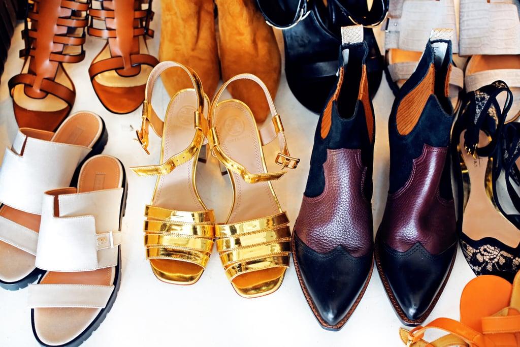 احفظي الأحذية بالشكل الملائم