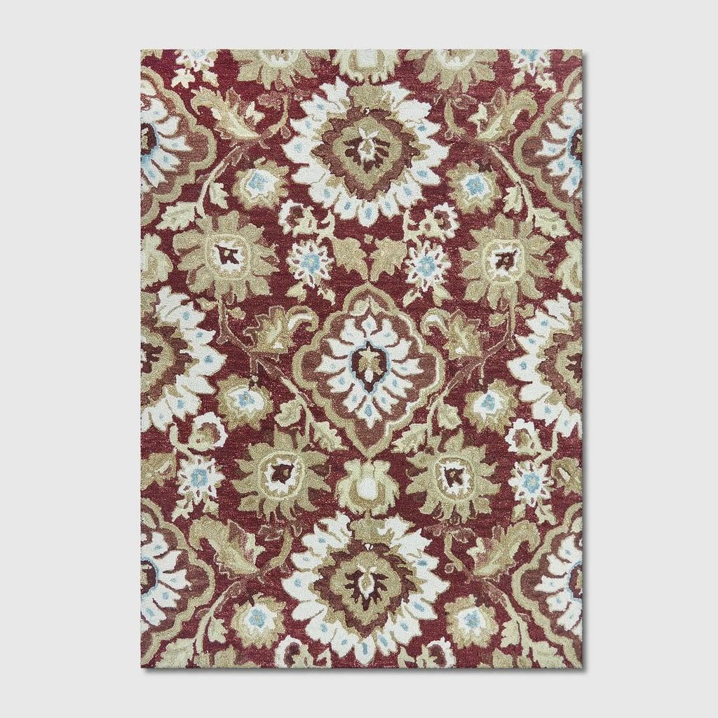 Jacobean Floral Tufted Rug