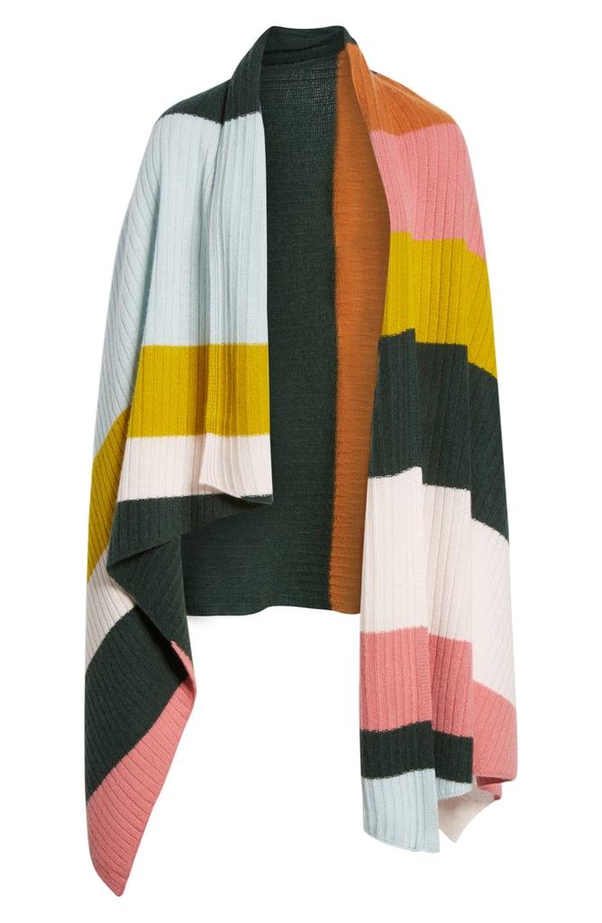 Stripe Cashmere Wrap