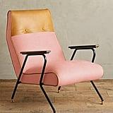 Anthropologie Linen Quentin Chair