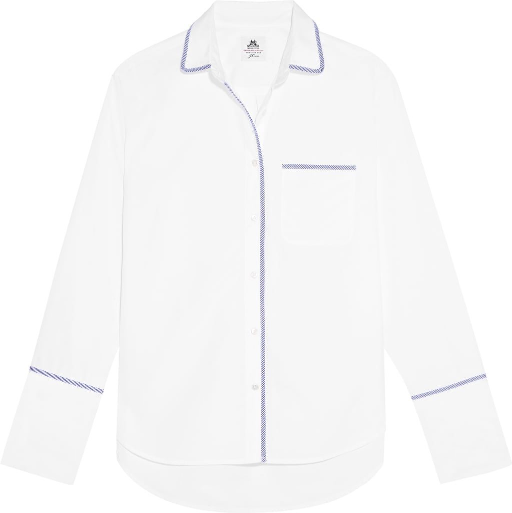Thomas Mason Darn Cotton-Poplin Shirt ($160)