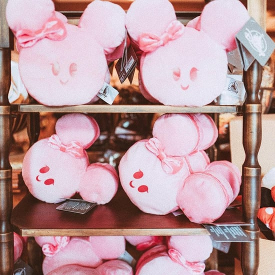 Disney Pink Minnie Mouse Macaron Pillow