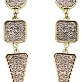 Panacea Geo Drop Earrings
