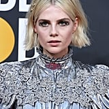 Lucy Boynton's Flipped-Out Bob at the 2020 Golden Globes