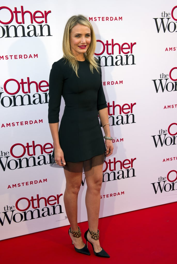 Cameron Diaz in Dior at the Amsterdam Premiere of The Other Woman