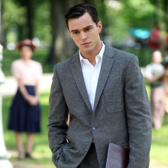 Nicholas Hoult Filming Rebel in the Rye Pictures
