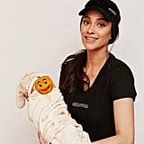 Shay Mitchell Dressed Up as a Chipotle Employee, While Her Baby Daughter Was a Burrito