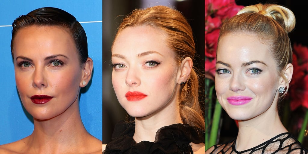 Celeb Beauty: Emma Stone, Amanda Seyfried, Charlize Theron