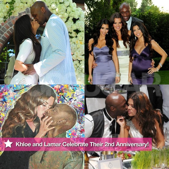 Khloe and Lamar Celebrate 2 Years Married —Look Back at Their Love!