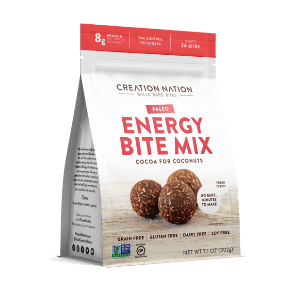 Creation Nation Paleo Energy Bite Mix