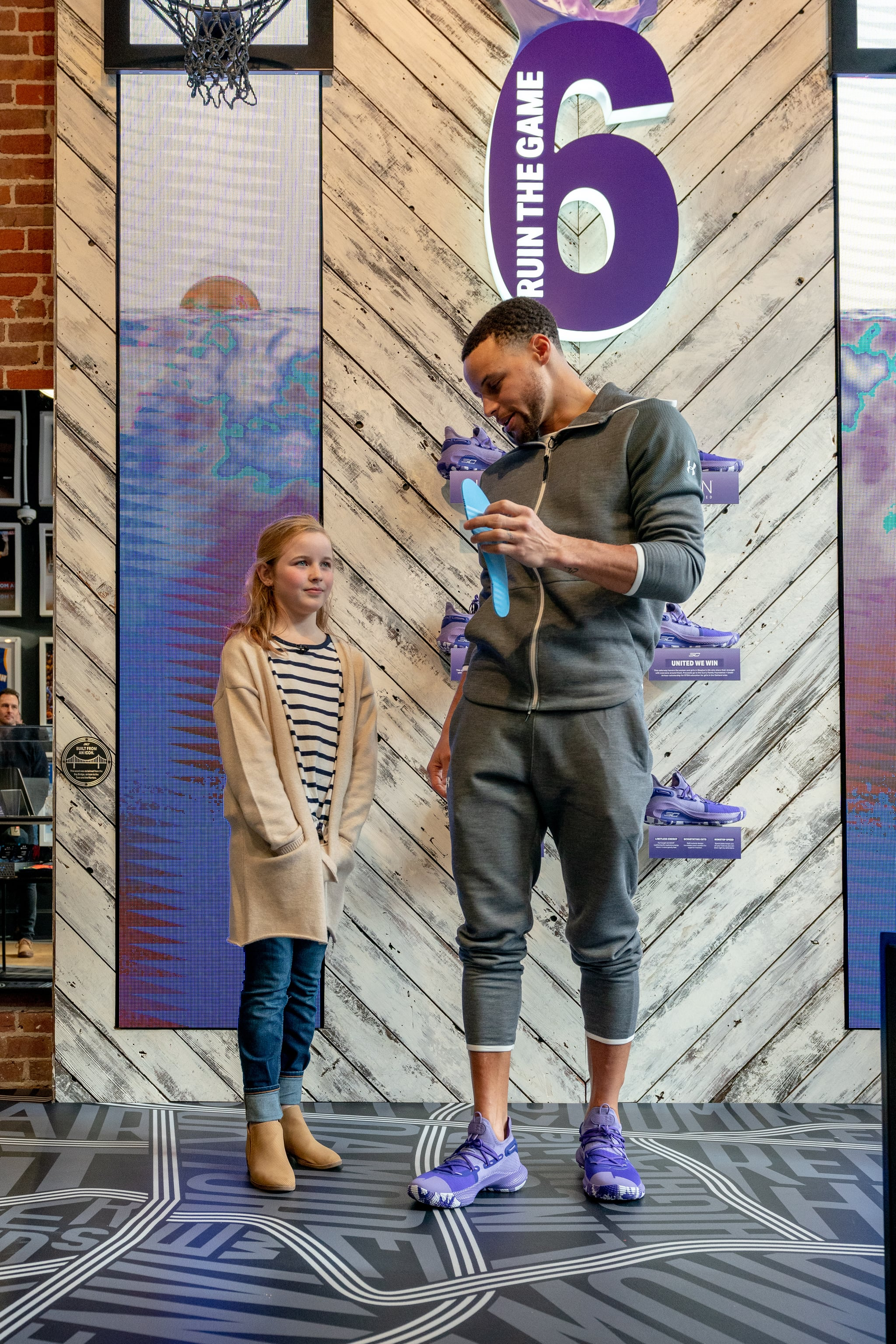 Steph Curry Sneakers For Girl on