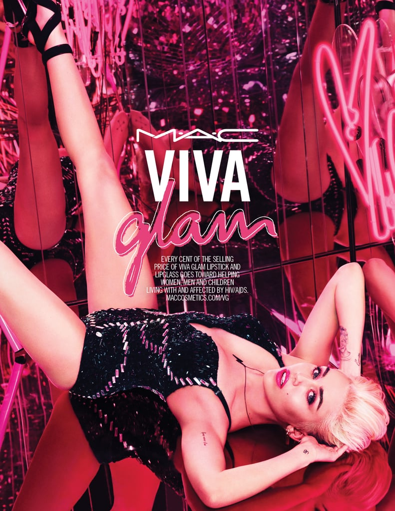 Miley Cyrus Is the New Face of MAC Viva Glam