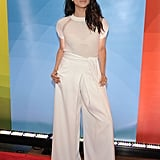 In June 2015, Meghan taught us how to wear palazzo trousers for a casual yet sophisticated look.