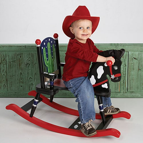 Posh Tots Little Cowboy Rocking Horse