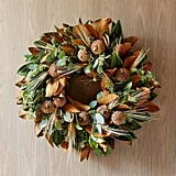 Magnolia Wheat Wreath