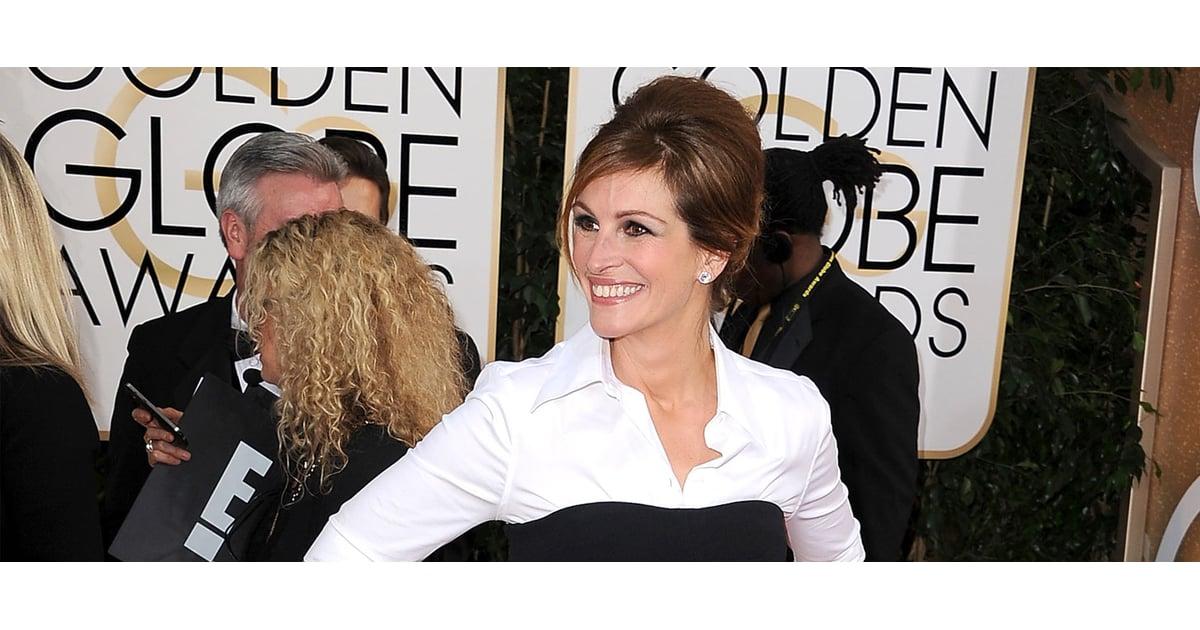 Julia Roberts Dress on Golden Globes 2014 Red Carpet | POPSUGAR ...
