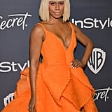 Laverne Cox at the 2020 Golden Globes Afterparty