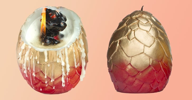 ThinkGeek Hatching Dragon Egg Candle | POPSUGAR Entertainment