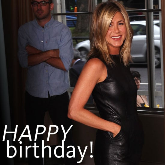 Happy 43rd Birthday Jennifer Aniston See Pictures Of The Friends Starfashion Evolution Over The