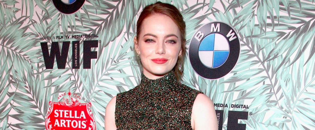 A Glimpse at Emma Stone and You'll See There's Clearly a Pre-Oscars Dress Code