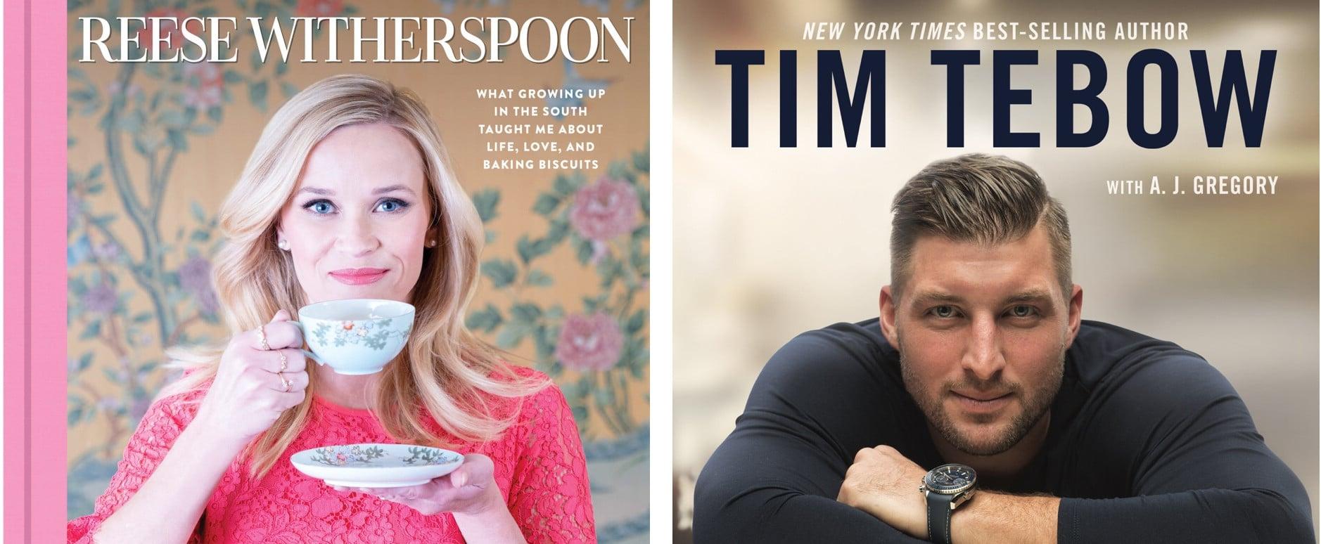 Books Written by Celebrities Fall 2018