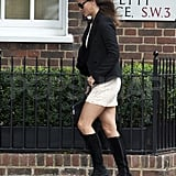 Pippa Middleton heads to work.