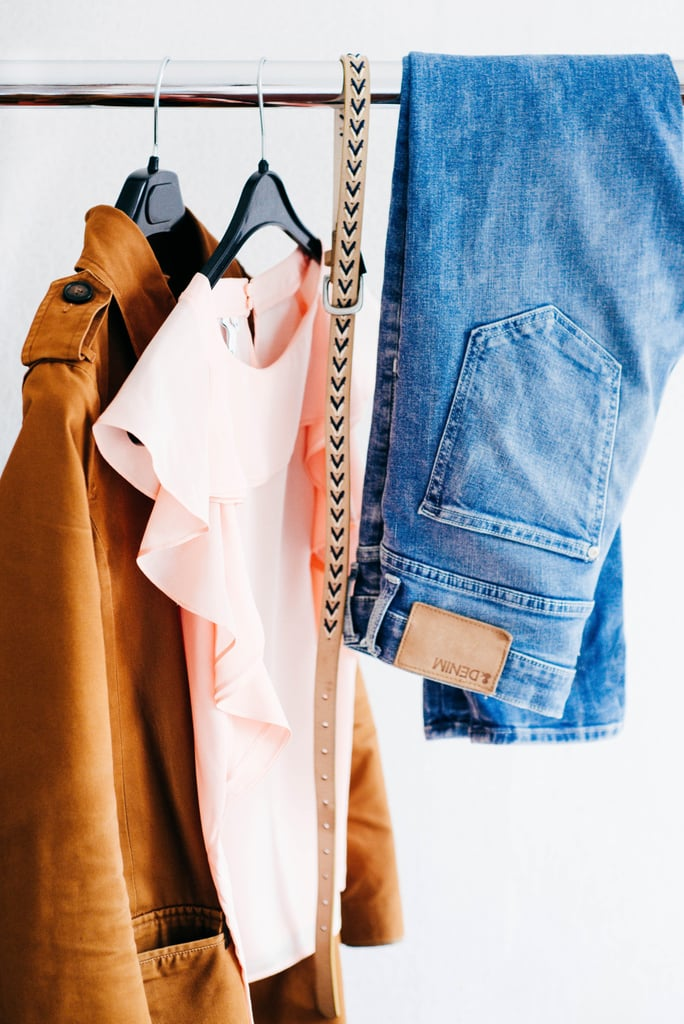 Shop your closet, and try out new ways to wear the clothes you already have.