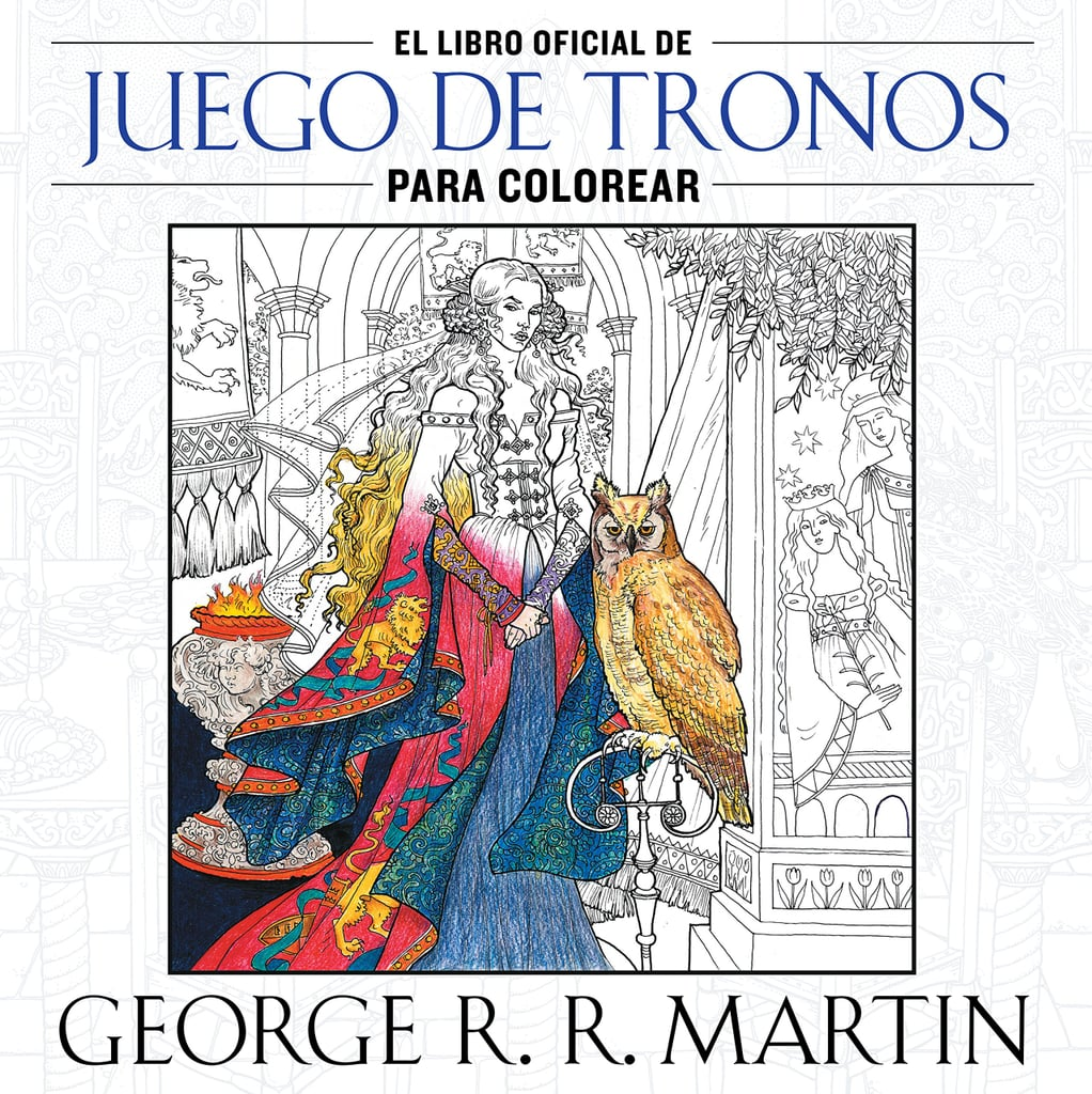 Official Game of Thrones Adult Coloring Book