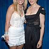 With Britney Spears at the MTV Video Music Awards in 2003.