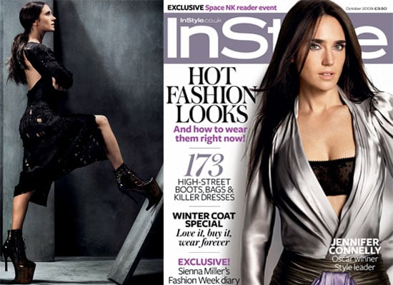 Photos Of Jennifer Connelly On Cover Of InStyle Magazine