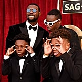 Pictured: Trevante Rhodes, Ashton Sanders, Alex R. Hibbert, and Jaden Piner