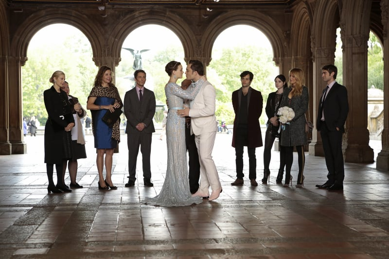 Blair and Chuck say their own vows, which includes a throwback to an ...