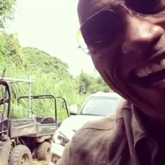 Dwayne Johnson Scaring Kevin Hart Instagram Video 2016