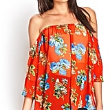 Forever 21 Off-the-Shoulder Blouse