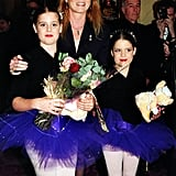 Beatrice and Eugenie showed off their ballet best at a charity performance in 1999.
