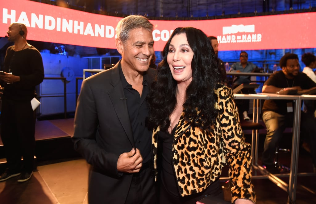 George Clooney and Cher