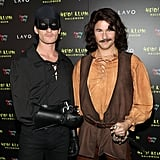 Neil Patrick Harris and David Burtka as Westley and Inigo Montoya From The Princess Bride