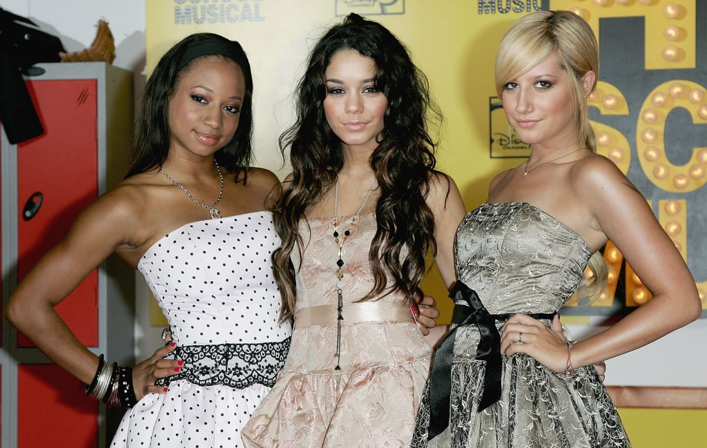 Monique Coleman, Vanessa Hudgens, and Ashley Tisdale at the 2006 High School Musical UK Premiere