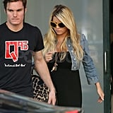 Jessica Simpson steps out in LA.