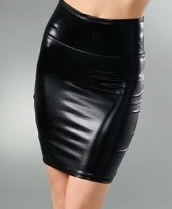 Kova & T Latex High Waisted Skirt: Love It or Hate It?
